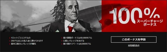 Hotforex スーパーチャージボーナス