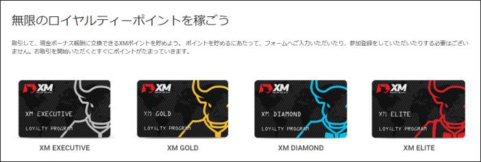 XM ロイヤリティボーナス