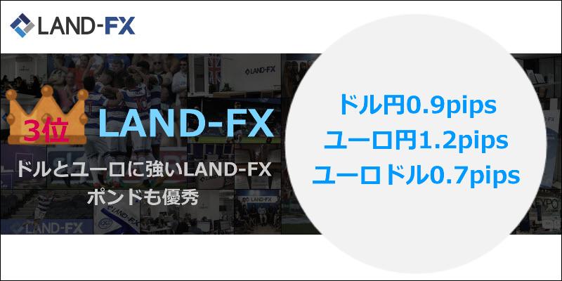 海外FXスプレッドNo.3 LAND-FX